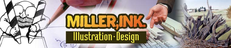 """Miller Ink Illustration and Design, Barrie, Ontario, Canada"""
